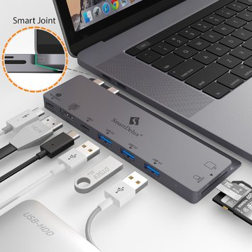 USB-C Hub for Macbook Pro 2016-2018 13